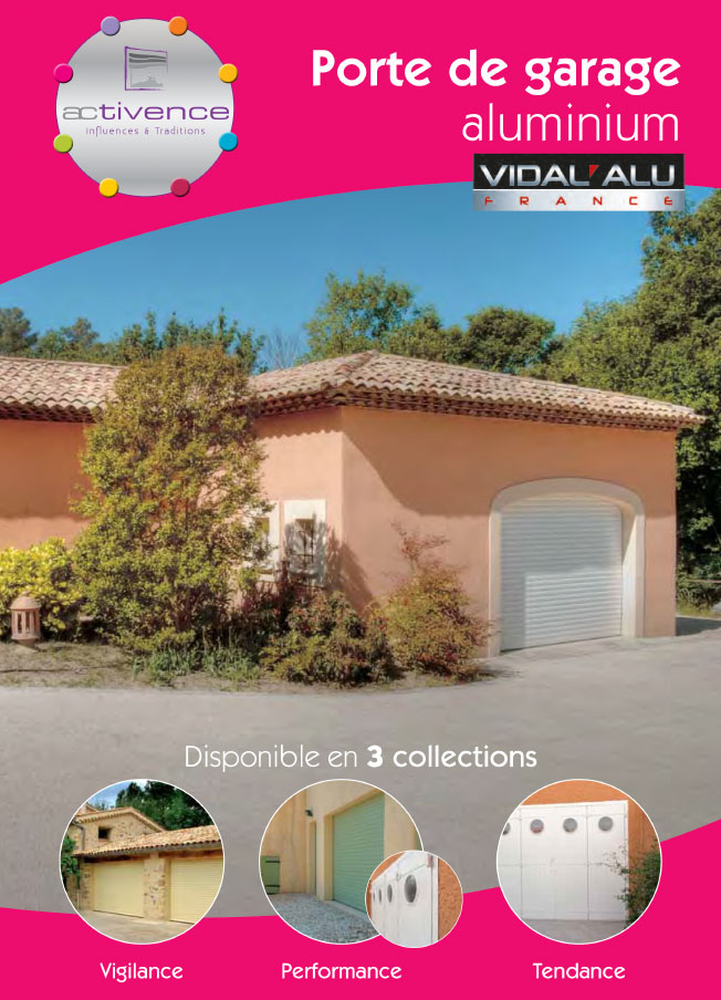 Porte de garage Vidal Alu
