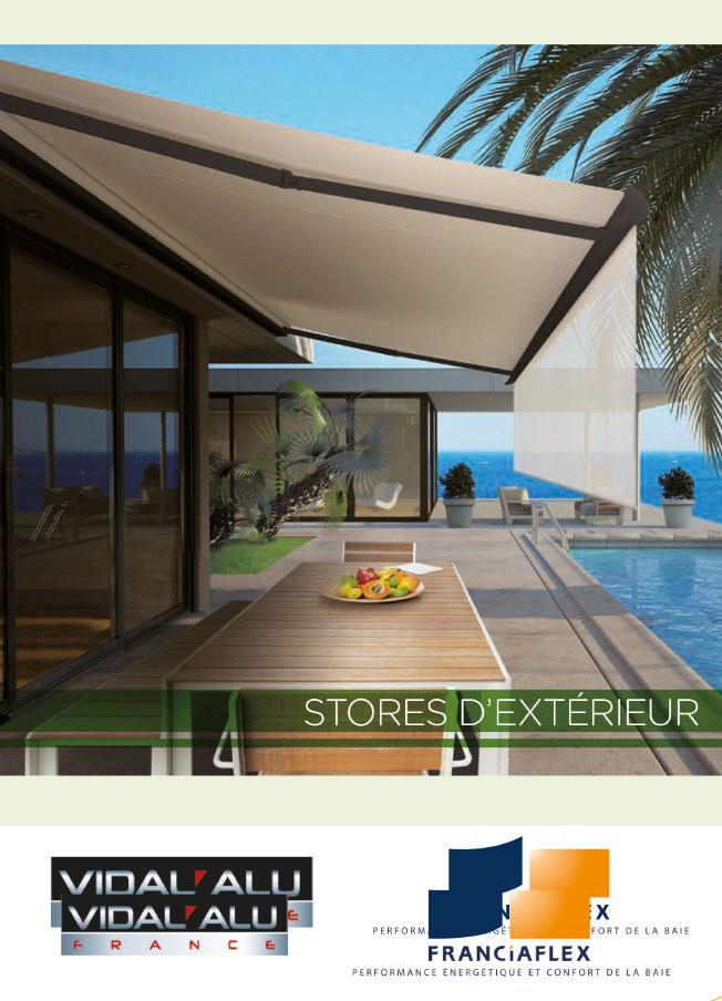 Store exterieur Vidal Alu