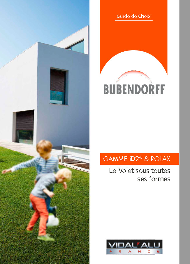 Volets Bubendorff Vidal Alu